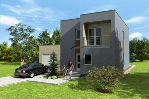 Каркасный дом с плоской крышей – свежие тенденции в строительстве
