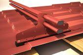 Особенности устройства снегозадержателя на крышу