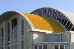 Арочная крыша – особенности конструкции и технология монтажа