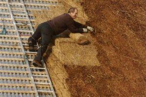 Как строится соломенная крыша: традиционная технология устройство крыши из соломы