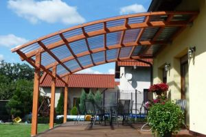 Крыша из поликарбоната для террасы – материал, конструкция, монтаж