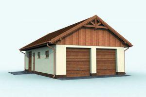 Двухскатная крыша для гаража своими руками