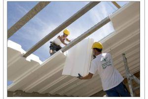 Утепление крыши пенопластом – технология и свойства материала