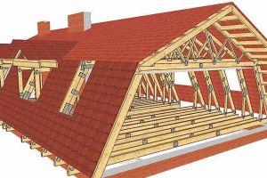 Стропильная система ломаной крыши: расчет, проектирование и монтаж