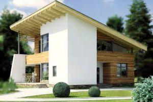 Устройство односкатной крыши – расчет и схемы