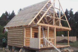 Как сделать стропила для крыши бани своими руками?