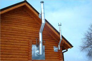 Устройства и требования к дымоходу газового котла или колонки
