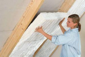 Утепление крыши изнутри минватой — технология монтажа