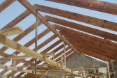 Как рассчитать высоту крыши: расчет высоты конька дома