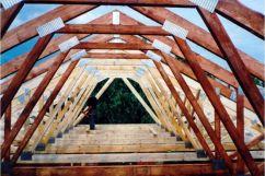 Ломаная мансардная крыша своими руками — от создания проекта до монтажа