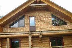 Как самостоятельно сделать фронтон крыши?