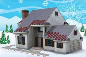 Для чего нужна система антиобледенения крыш?