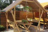 Двухскатная крыша для беседки – особенности конструкции и монтажа