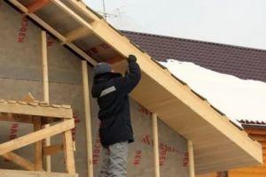 Что такое подбой крыши – материла и способы подшивки кровельного карниза
