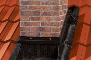 Как выполняется герметизация печной трубы на крыше?